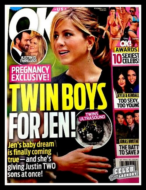 Jennifer Aniston's Pregnancy Dreams Come True: IVF Treatments a Success, Twin Boys on the Way -- Report (PHOTO)