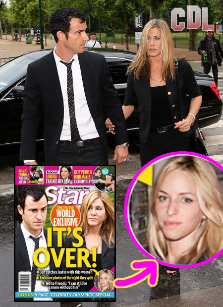 Jennifer Aniston Kicks Justin Theroux out of her Life after He's Caught with Another Woman!