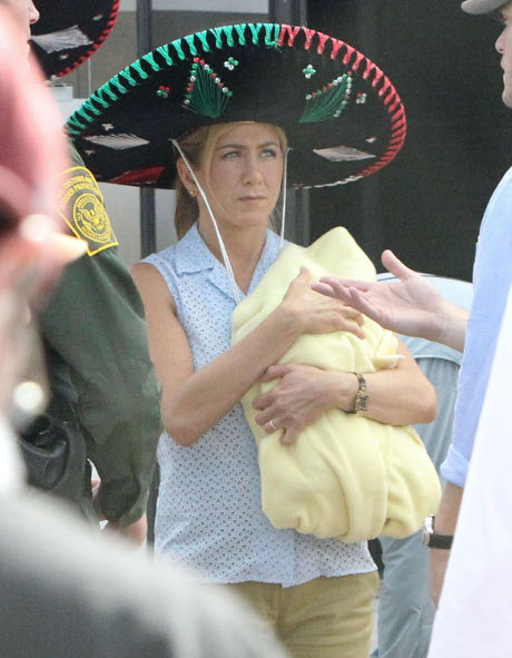 Jennifer Aniston Fights with Justin Theroux Over Heidi Bivens AGAIN!