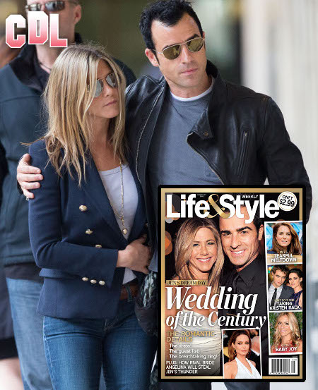 Jennifer Aniston and Justin Theroux Plan their Dream Wedding: All the Romantic Details!