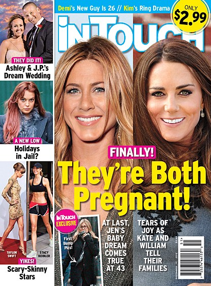 Jennifer Aniston Pregnant With Her First Child (Photos)
