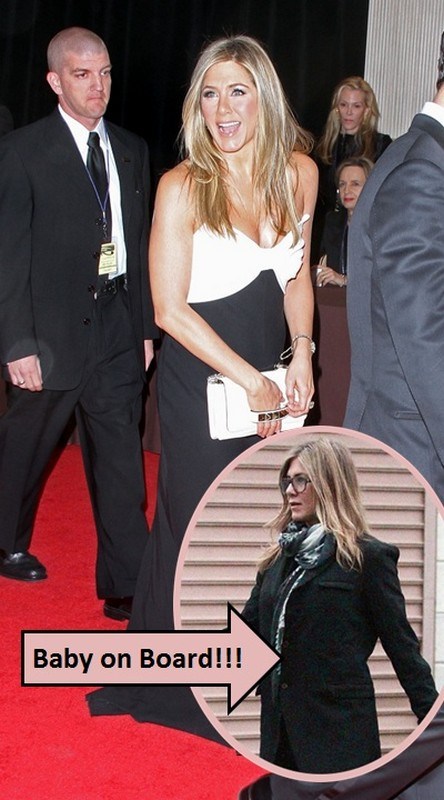 Is Pregnant Jennifer Aniston's Baby Bump Hiding Under This Coat? (Photos)