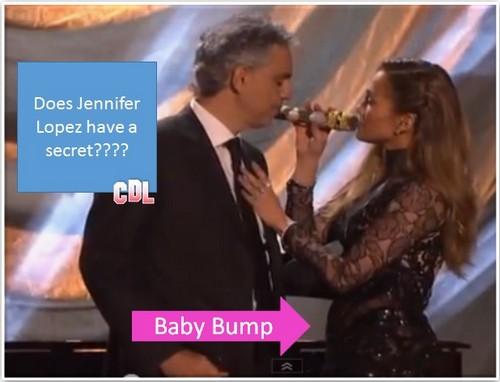 Jennifer Lopez Pregnant - Reveals Baby Bump on DWTS? (PHOTO – VIDEO)