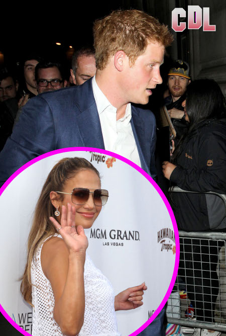 Is Prince Harry Hooking up with Jennifer Lopez in Vegas?