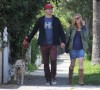 Jon Hamm And Jennifer Westfeldt Take His Junk And Their Dog For A Walk (Photos) 0402