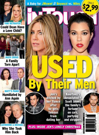 Jennifer Aniston Merely A Pawn In Justin Theroux's Game: He's Using Her For His Career -- Won't Marry Her! (PHOTO)
