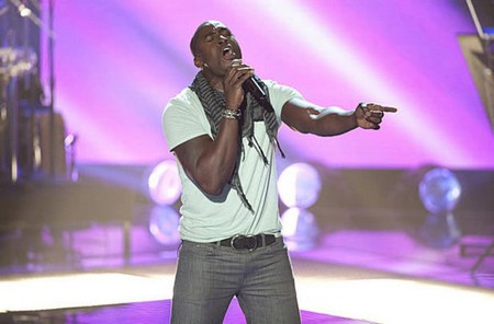 Jermaine Paul The Voice 'Song Name' Performance Video 4/30/12