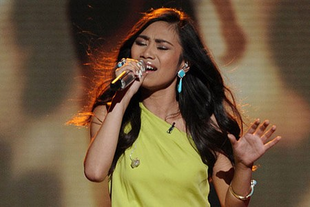 Jessica Sanchez American Idol Finale Performance
