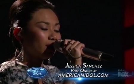 Jessica Sanchez American 2012 Idol Top 9 'Sweet Dreams' Video