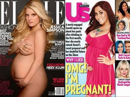 Snooki Makes Fun Of Jessica Simpson's Big Pregnant Belly