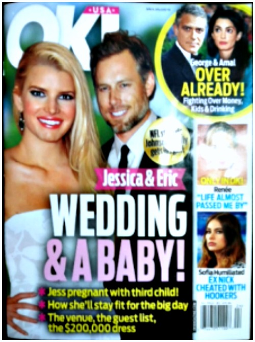 Jessica Simpson Pregnant With Third Child? (PHOTO)