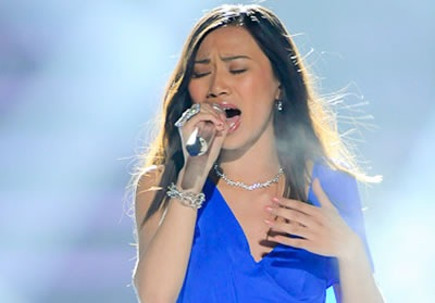 Jessica Sanchez American Idol 2012 'Dance With My Father Again' Video 4/25/12