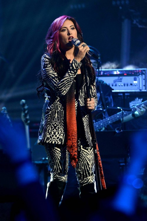"""Jessica Meuse American Idol """"Blue-Eyed Lie"""" Video 4/2/14 #IdolTop8"""