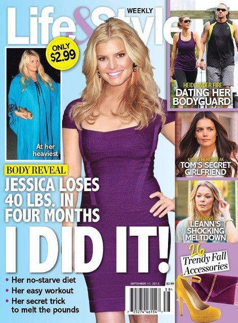 She Did It! Jessica Simpson Lost 40 Pounds In Four Months (Photo)