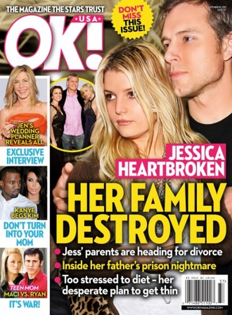 Jessica Simpson Heartbroken - Her Family Destroyed