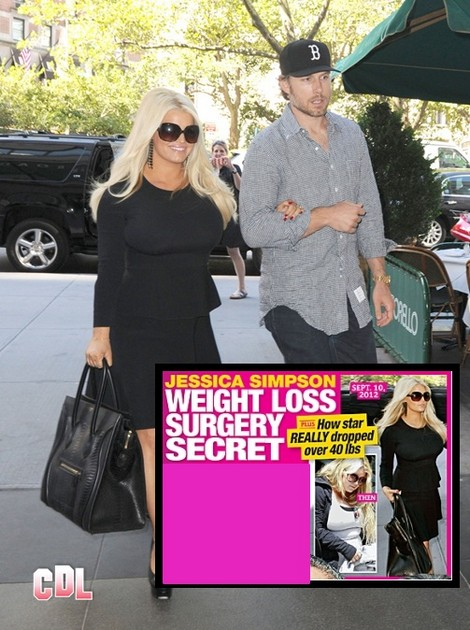 Jessica Simpson Plastic Surgery Secret Revealed! Is That How She Really Lost The Weight? 0912