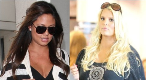 Jessica Simpson And Vanessa Minnillo Lachey Competing To Lose The Baby Weight 1003