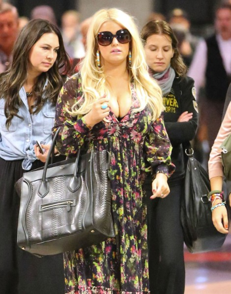 Jessica Simpson: Weight Loss Is Too Hard, I Want Lap Band Surgery! 0928
