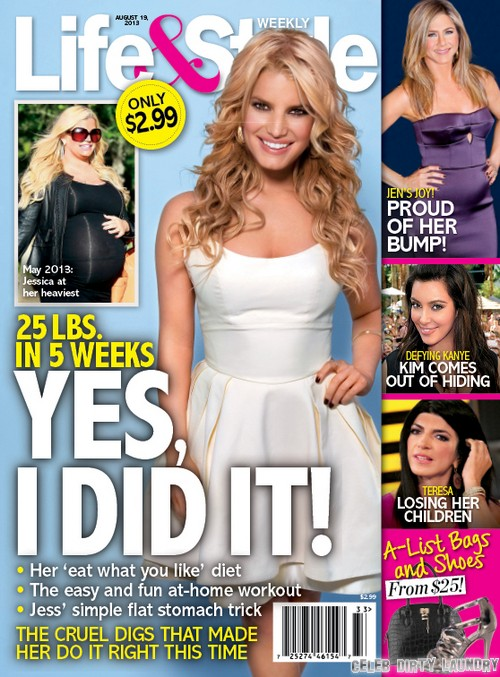 Jessica Simpson Dramtic Weight Loss After Baby 25 Pounds In 5 Weeks Photo