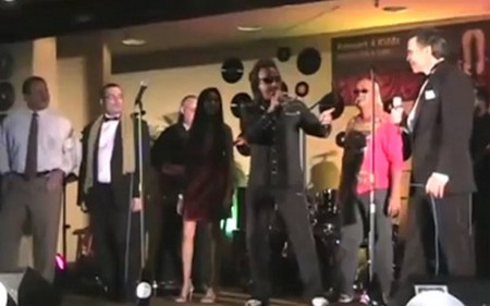 WWE Legend Jimmy Hart, Shannon Rose, Brian Blair and Lanny Poffo Sing Keep on Dancing