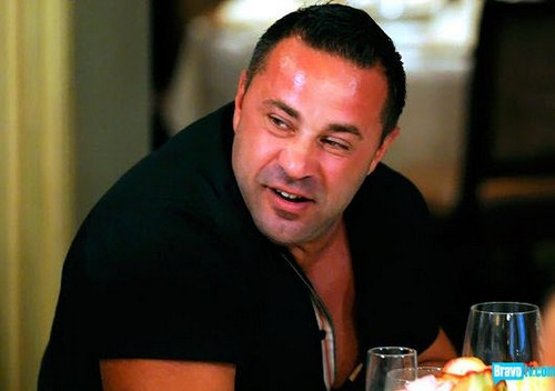Joe Giudice Caught Cheating on Teresa Giudice: Spotted Dining With Hot Brunette