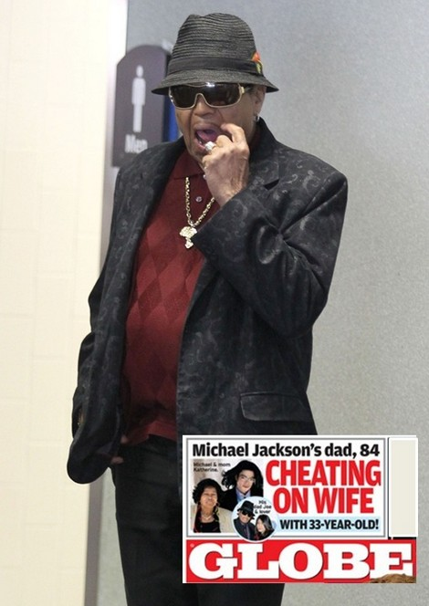 Michael Jackson's Dad, Joe Jackson, Caught Cheating With 33-Year-Old Lavinia Iskander!