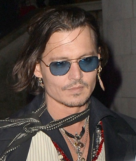 Johnny Depp Stops Drinking In Effort To Stay Pretty, Is It Working? 1012