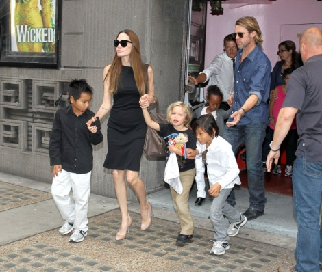 Are Angelina Jolie And Brad Pitt The Next Will Smith And Jada Pinkett Smith? 0827