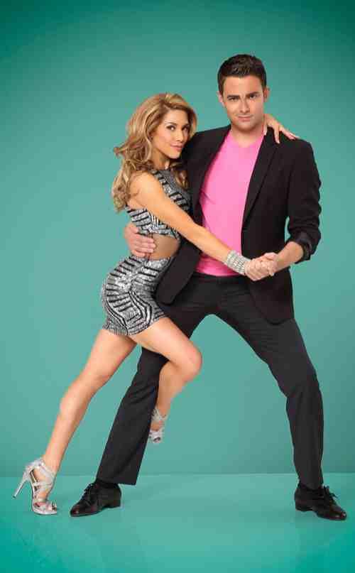 Jonathan Bennett & Allison Holker Dancing With the Stars Samba Video Season 19 Week 4 10/6/14 #DWTS