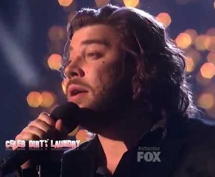 Josh Krajcik 'Please Come Home For Christmas' The X Factor USA Performance Video 12/22/11