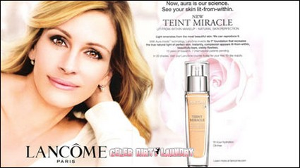 Julia Roberts' Airbrushed Cosmetic Ad Banned By Officials