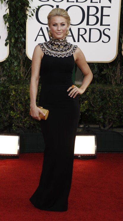 Julianne Hough At The 68th Annual Golden Globe Awards