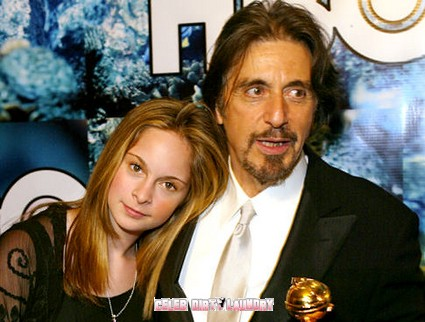 Al Pacino's Daughter Busted!