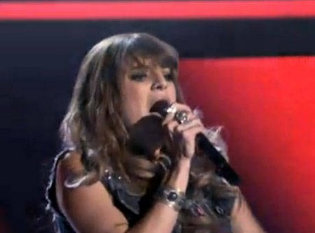 Juliet Simms The Voice 'Song Name' Performance Video 5/7/12