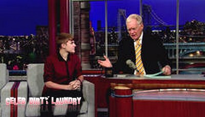 Justin Bieber Geographically Challenged On Letterman (Video)