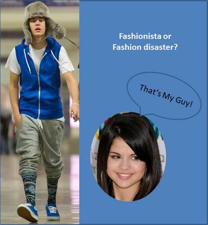 Justin Bieber Has A Major Fashion Disaster (Photo)