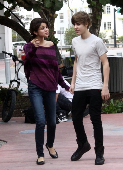 Justin Bieber and Selena Gomez on a Second Date In Miami Celeb Dirty