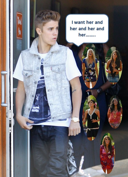 Justin Bieber Feels He Should Be Tapping All The Girls All The Time