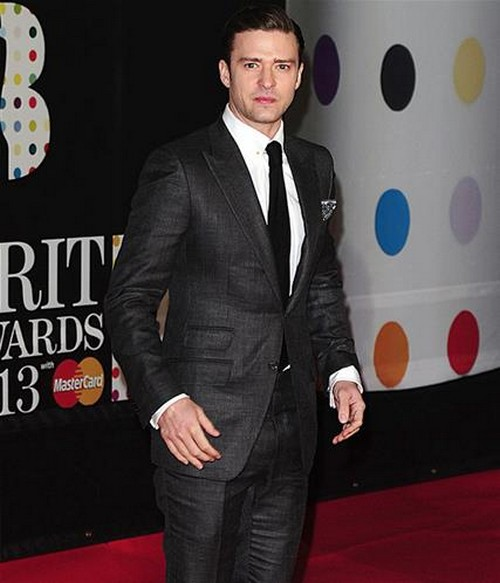 Justin-Timberlake-BRIT-Awards-2013-red-carpet-arrival