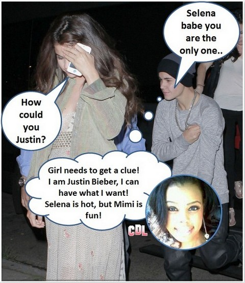 "Justin Bieber Begs Milyn ""Mimi"" Jensen For A Repeat ""Booty Call"" - Report"