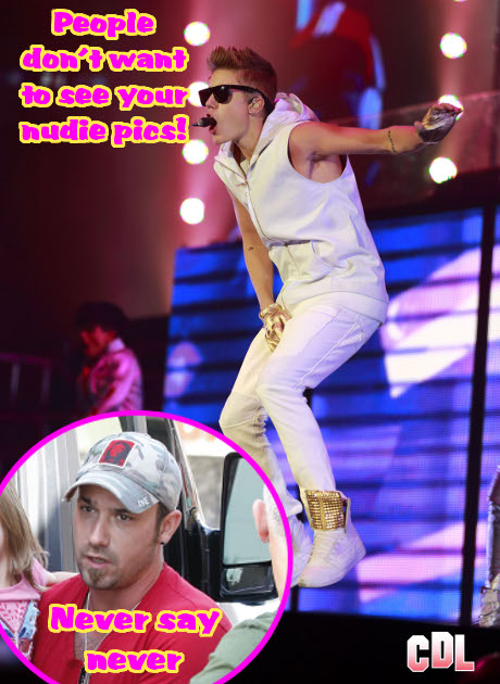 Racy Naked Photos of Justin Bieber's Dad Jeremy Bieber Currently Being Shopped!