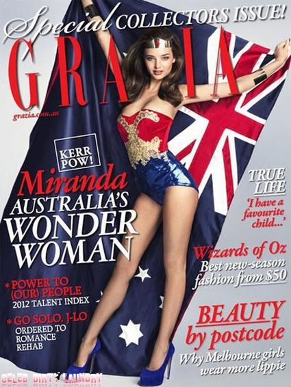 Miranda Kerr Goes From Supermodel To Wonder Woman (Photo)