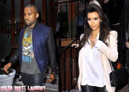 Has Kanye West Knocked Up Kim Kardashian? (Photo)