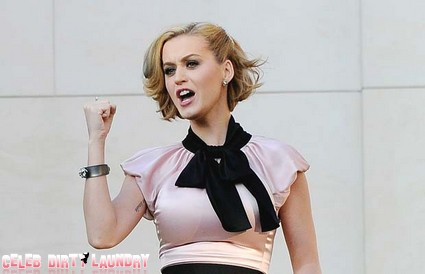 Katy Perry Keeps The House In Hollywood