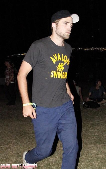 Twilight's Kristen Stewart, Robert Pattinson Party At Coachella (Photos)