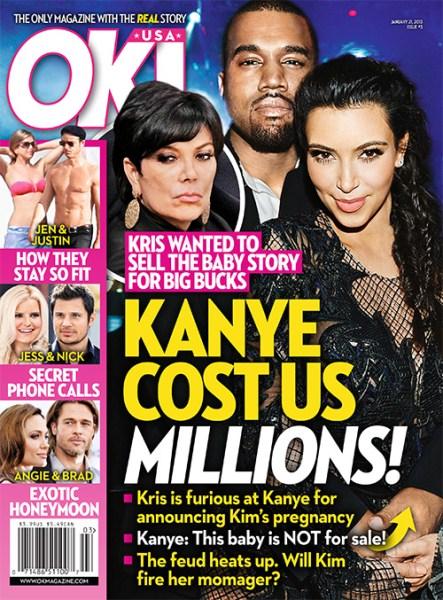 Kanye Is Costing Karadshians Millions