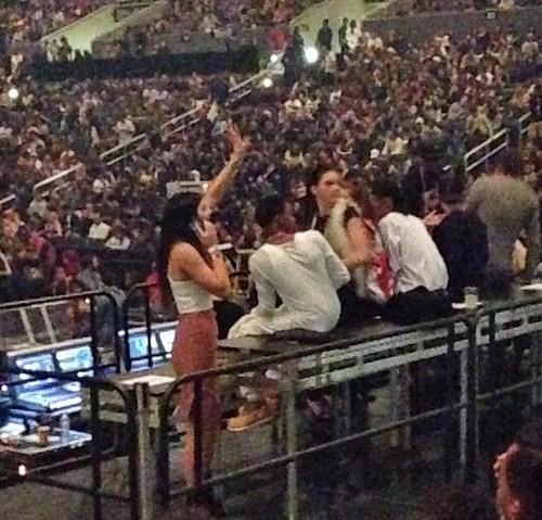 Khloe Kardashian and Lamar Odom Back Together - Spotted at Kanye West Concert!
