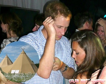 Pippa Middleton Hosts Kate And Prince William At New Year's Tent Party