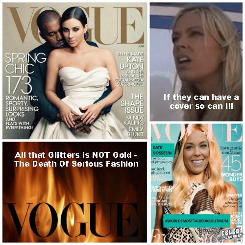 Kate Gosselin Lands Next Vogue Cover - Has The Once Prestigious Magazine Lost Its Status?