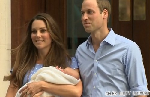 Prince William & Kate Middleton's Baby Boy Emerges From Hospital -- See Him Here! (PHOTOS)